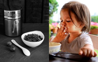 Kakao und Kleinkind beim Essen | lacapocuoca.at