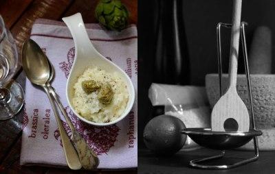 Risotto mit Artischocken | lacapocuoca.at