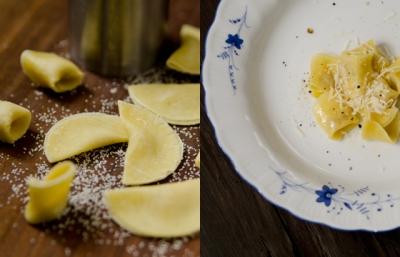 Tortellini mit Weißwurstfülle und Trüffelbutter| lacapocuoca.at