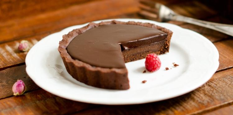 Aria Chocolate Tart | lacapocuoca.at