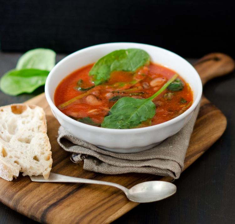 Borlottibohnensuppe | lacapocuoca.at