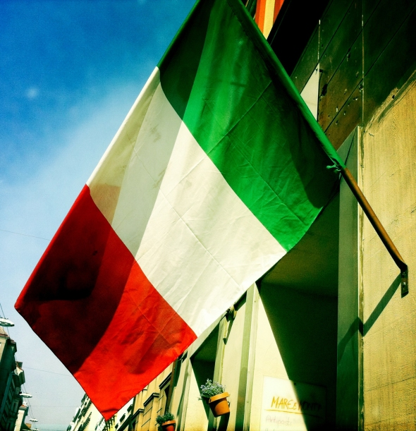 Italien Flagge | lacapocuoca.at