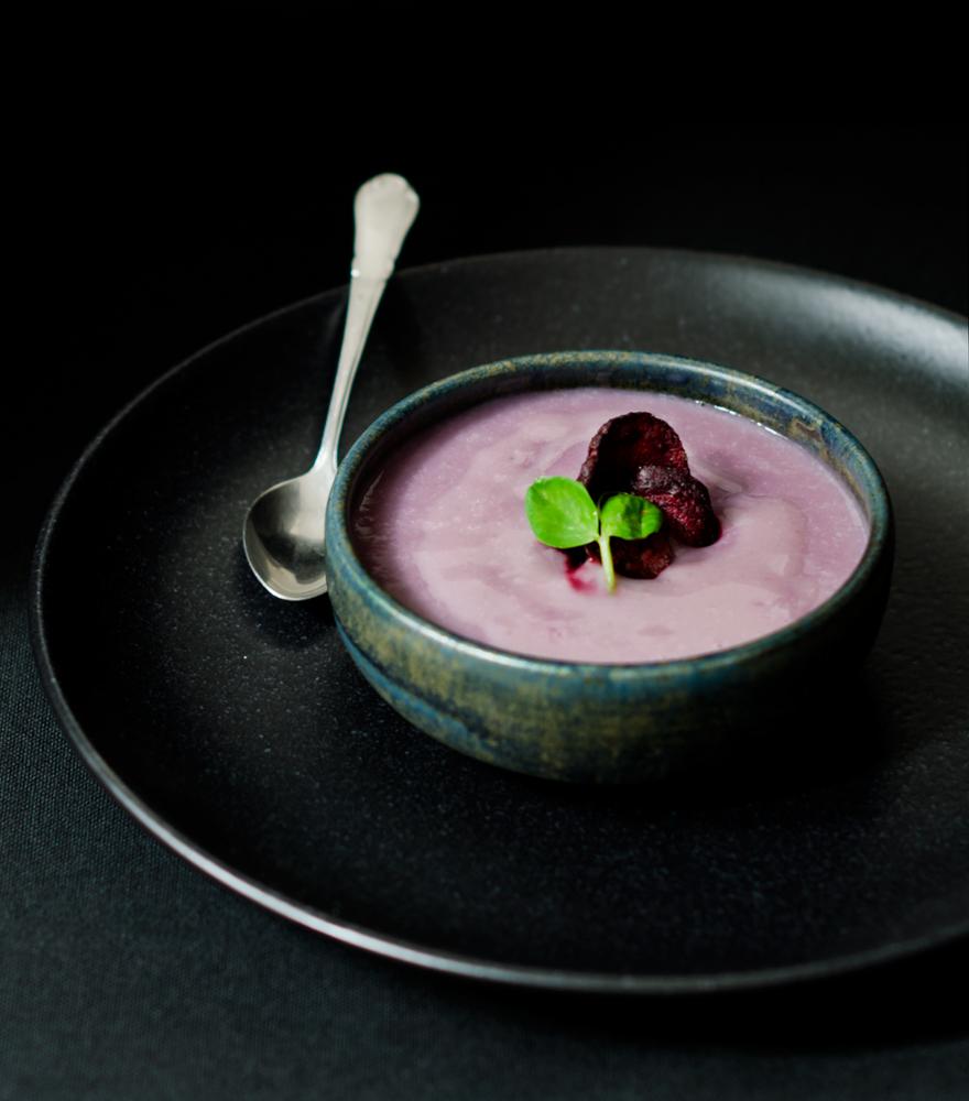 Vellutata di patate viola | lacapocuoca.at