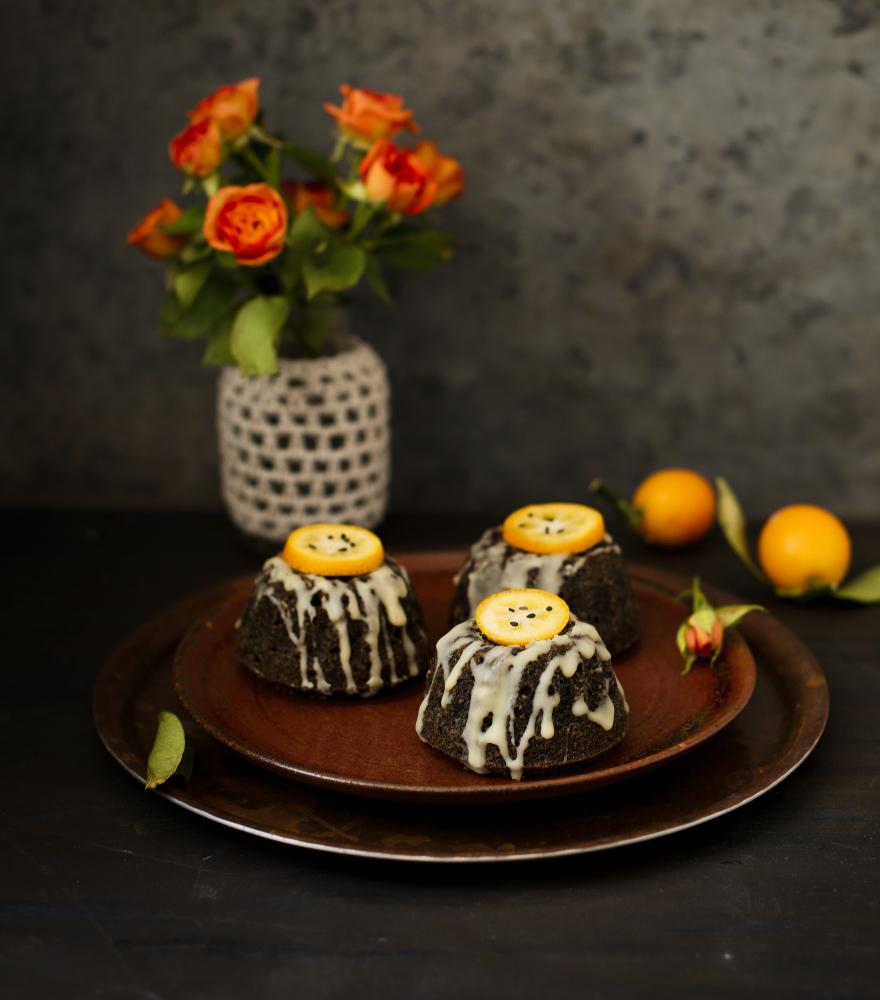 Schwarzer Sesam Kuchen | lacapocuoca.at