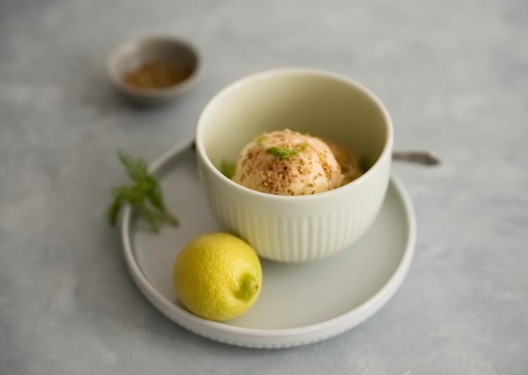 Fenchelpollen Eis mit Zitrone | lacapocuoca.at
