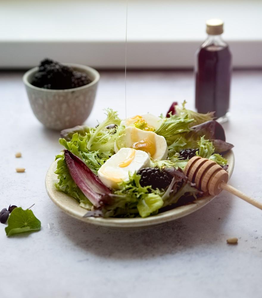Salat mit Brombeeressig | lacapocuoca.at